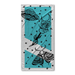 Aldridge Moth Beach Towel
