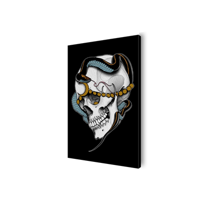 Avitia Skull Canvas