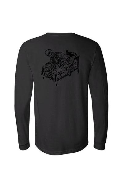 Relax We All Die Men's Black Collection Long Sleeve Tee