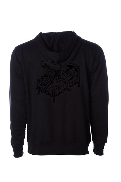 Relax We All Die Men's Black Collection Pullover