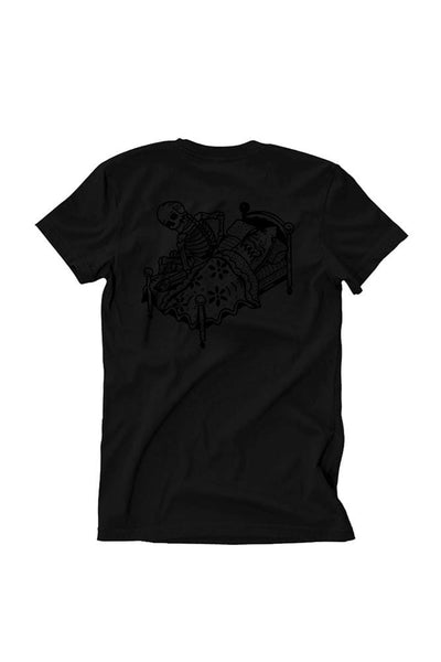 Relax We All Die Men's Black Collection Tee