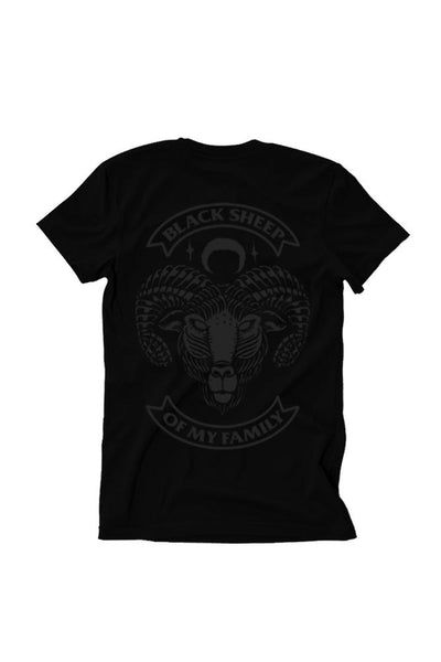 Black Sheep IV Black Collection Mens Tee