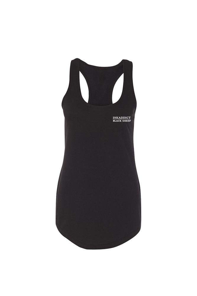 Black Sheep Women's Raw Edge Racerback Tank