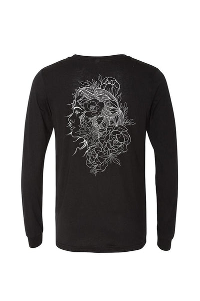Boris Lady Mens Long Sleeve Tee