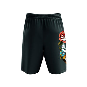 Campbell Skull Mens Shorts