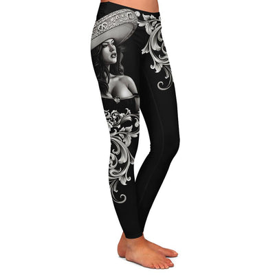 Ceeze Charra Womens Premium Leggings