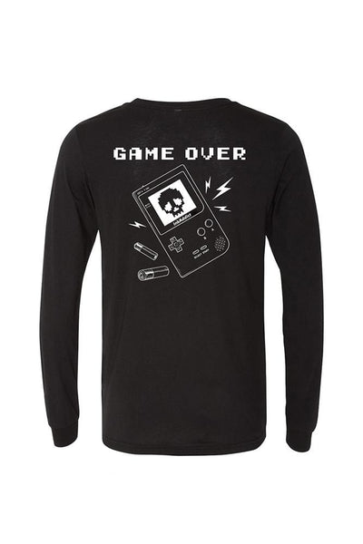 Game Over Mens Long Sleeve Tee