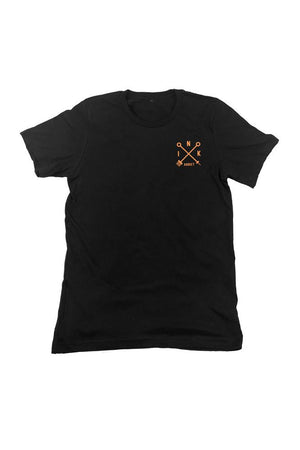 Campbell Eagle Mens Black Tee