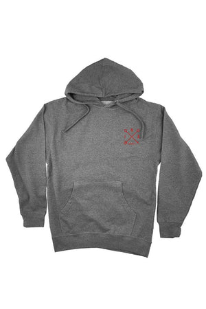 Campbell Panther Mens Gunmetal Pullover Hoodie