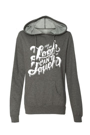 Can't Touch II Women's Gunmetal Heather Lightweight Pullover