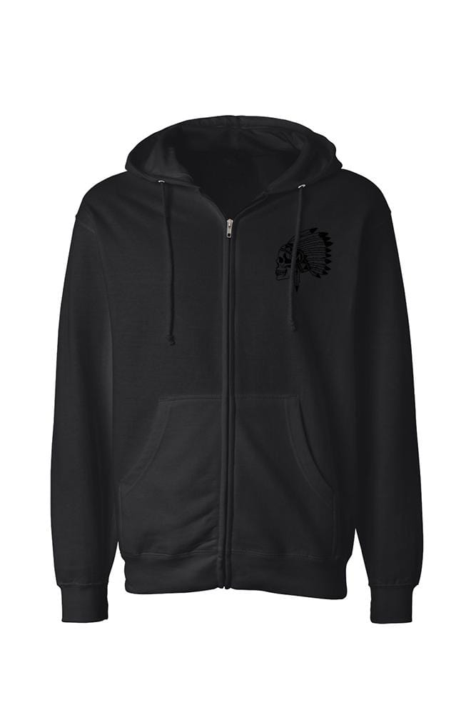 Chief Men's Black Collection Midweight Zip Hoodie