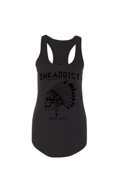 Chief Women's Black Collection Racerback Tank