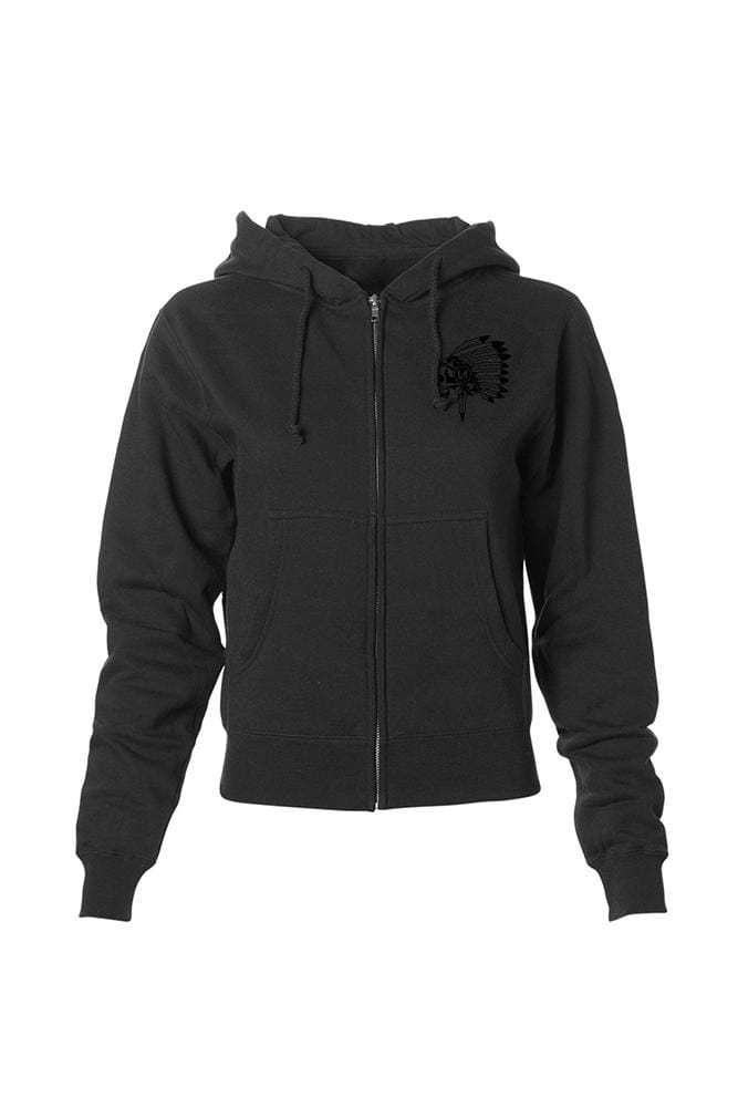Chief Women's Black Collection Midweight Zip Hoodie