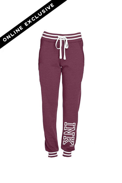 INK 2.0 Maroon Relay Women's Joggers