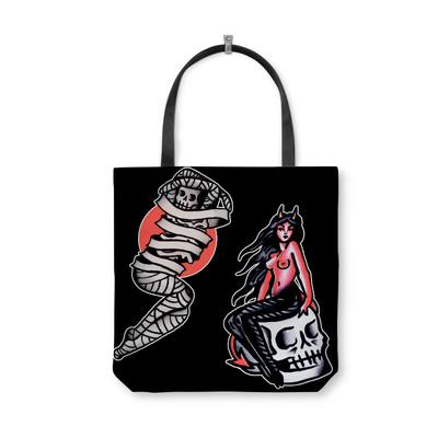 Collins Spooky Tote Bag
