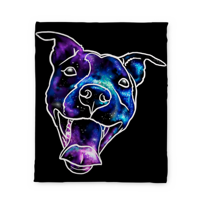 Donovan Pitbull Fleece Blanket