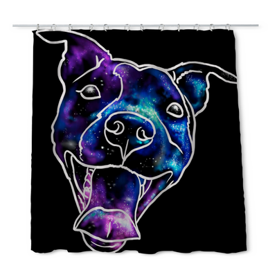 Donovan Pitbull Shower Curtain