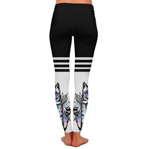 Drew Cat Womens Premium Leggings