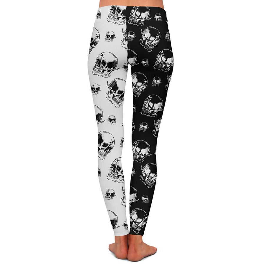 Emman Skull Womens Premium Leggings