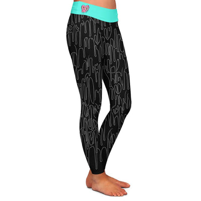 Evans Heart Womens Premium Leggings