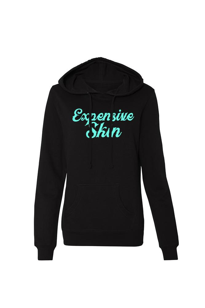 Expensive Skin Cursive Women's Lightweight Pullover