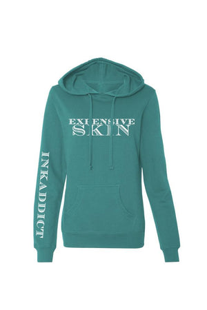 Expensive Skin Money Women's Teal Lightweight Pullover