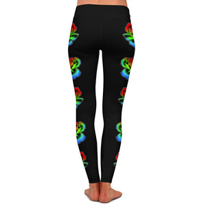 Flipshades Hyper Flowers Womens Premium Leggings