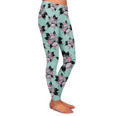 Flipshades Rose Womens Premium Leggings
