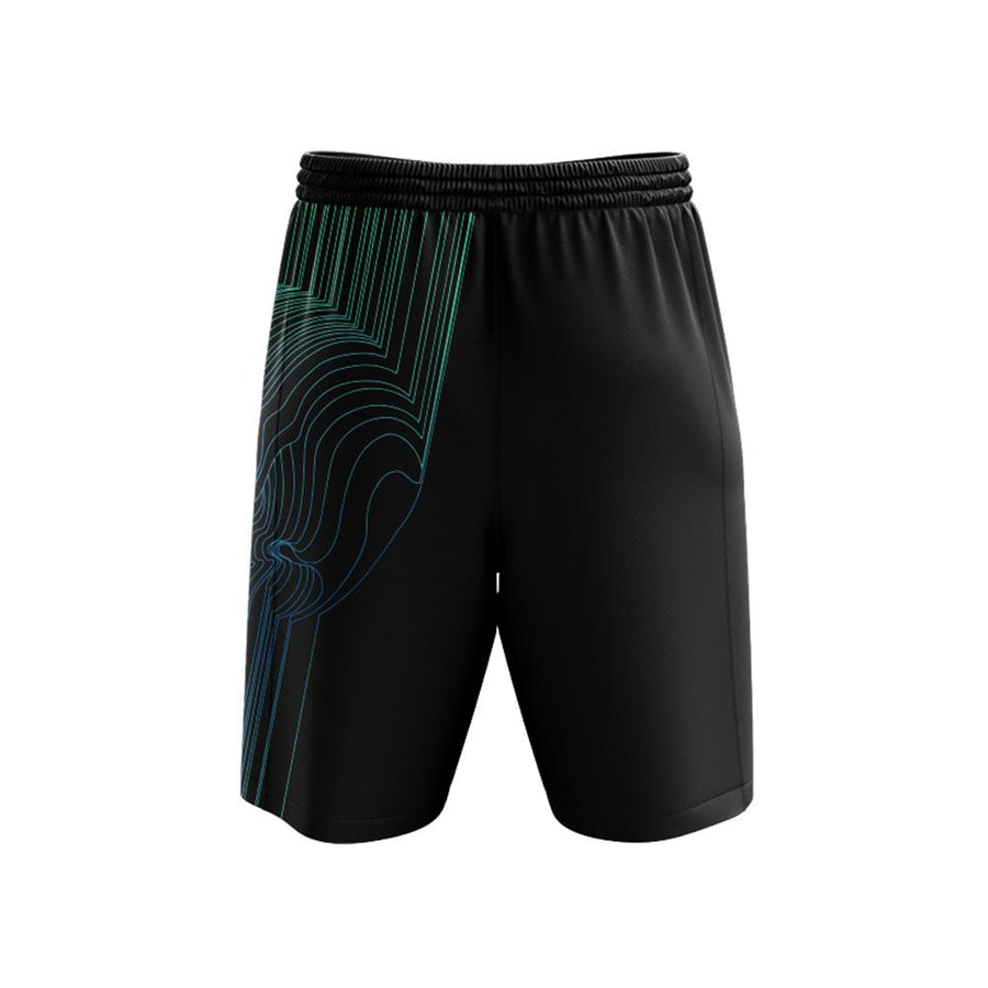 Fults Skull II Mens Shorts