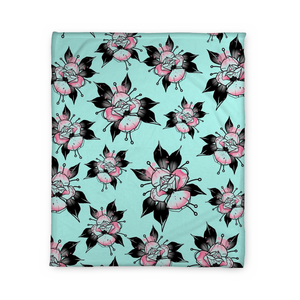 Flipshades Rose Fleece Blanket