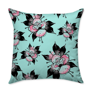 Flipshades Rose Throw Pillow
