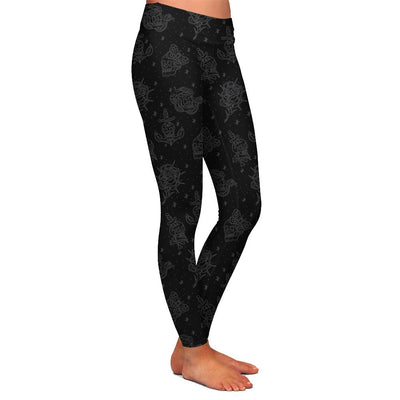 Fults Skulls Womens Premium Leggings