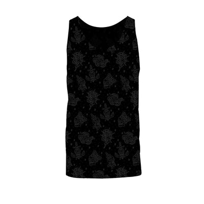 Fults Skulls Unisex Tank Top