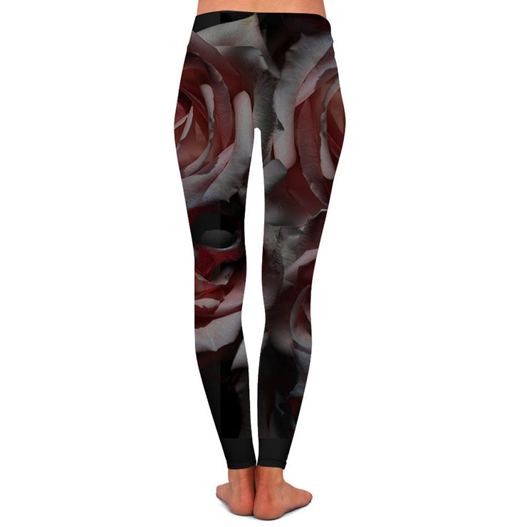 Garcia Pink Rose Womens Premium Leggings