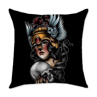 Stoll Lady Square Throw Pillow