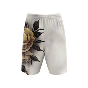 Hume Yellow Rose Mens Shorts