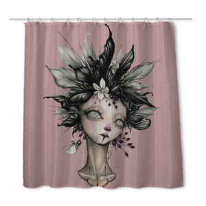 Hathaway Lady II Shower Curtain