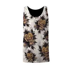 Hume Yellow Rose Unisex Tank