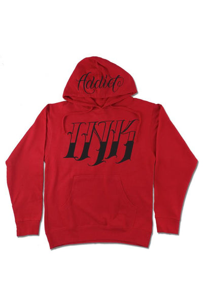 INK Cordaro Mens Red Pullover
