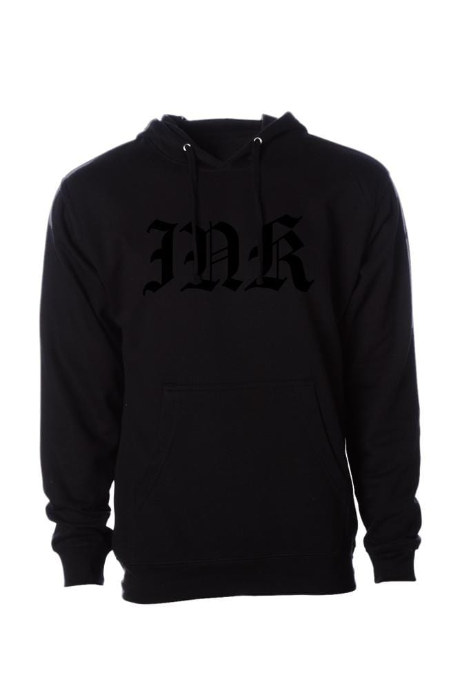 INK Lettering Men's Black Collection Pullover