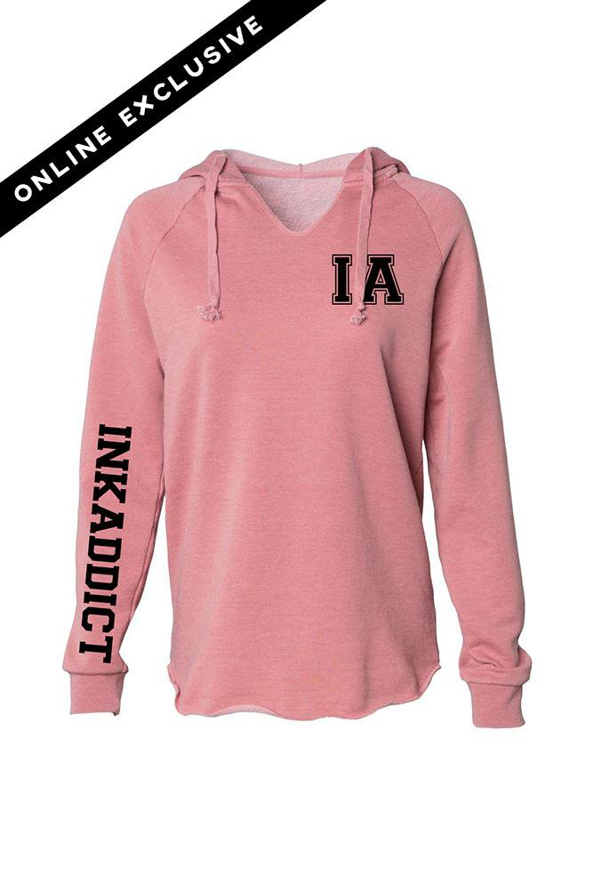 INK Script II Dusty Rose Hoodie