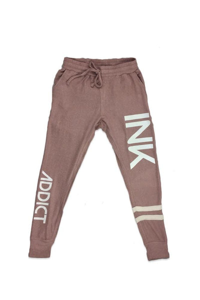 INK Women's Double Striped Joggers