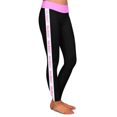 InkAddict Pink Womens Premium Leggings