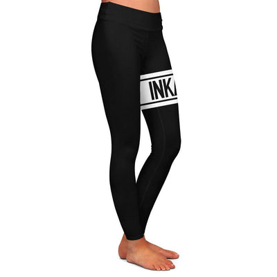 Varsity Black/White Womens Premium Leggings