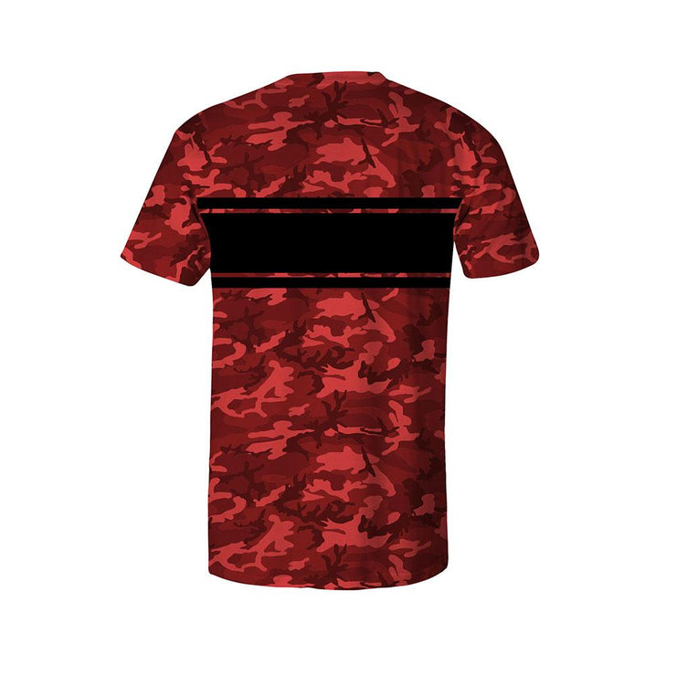 Varsity Camo Red/Black Unisex T-Shirt