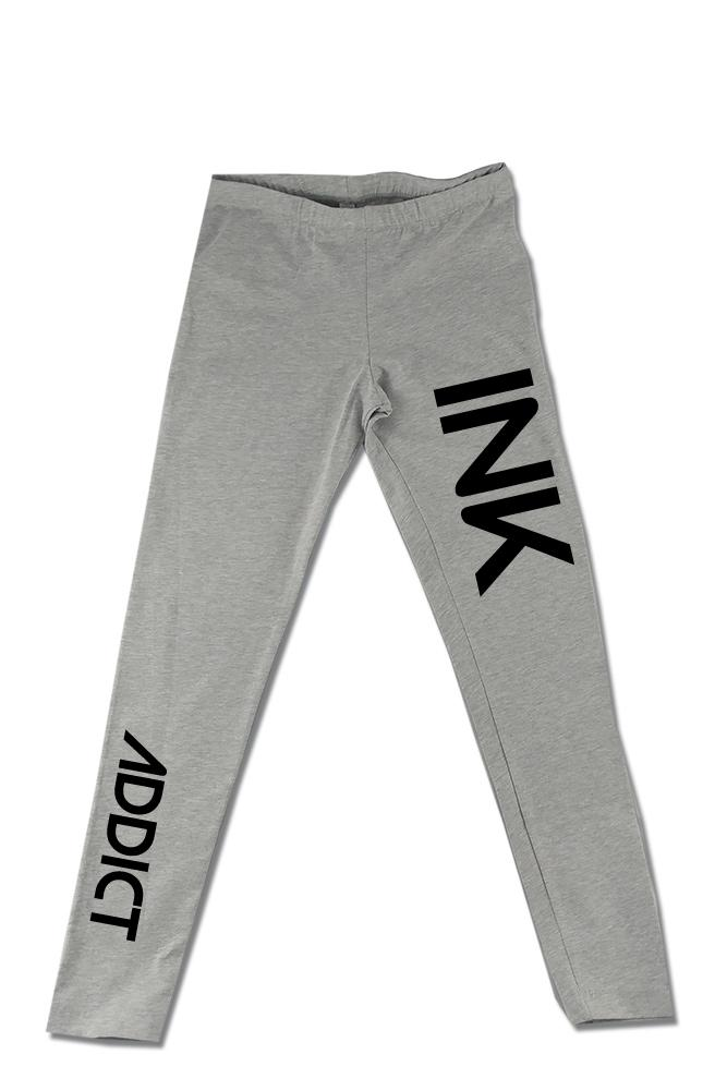INK Heather Grey Leggings