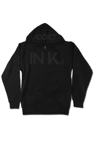 INK Men's Lightweight Zip Hoodie