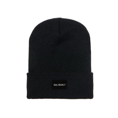 InkAddict Staple Beanie Black - CONVENTION
