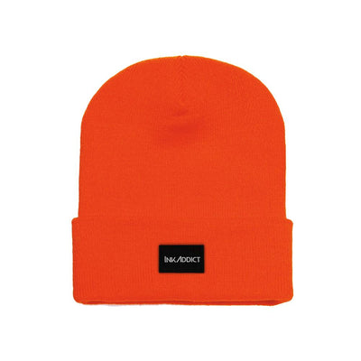 InkAddict Staple Beanie Blaze Orange