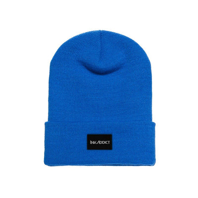 InkAddict Staple Beanie Royal Blue